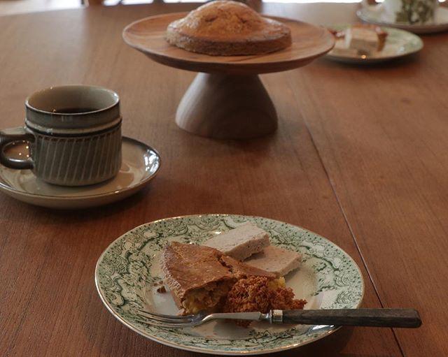 #日曜日#日曜日の贅沢#久しぶりの #おかし作り#のんびり #笑いの絶えない#楽しい時間#ありがとうございます#ガトーバスク #焼き菓子#カスタードクリーム #ココナッツマカロン #美味しいコーヒー784junction cafeさんでガトーバスクのレッスン@lifavo さん、ありがとうございました。素敵な時間を過ごせました。