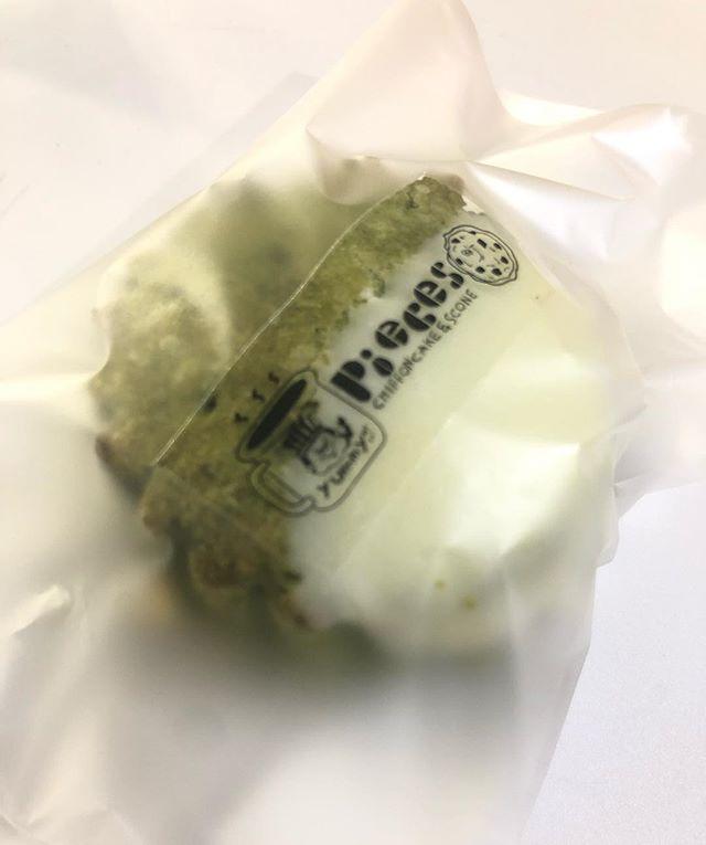 抹茶とホワイトチョコチップのスコーン@kobesharemarket はじまってまーす。シフォンケーキは完売しました。#神戸シェアマーケット#イベント出店#イベント情報 #焼き菓子屋#焼き菓子販売 #オーダー焼き菓子#スコーン #ほろほろスコーン#抹茶のスコーン #抹茶のおやつ#シフォンケーキ#焼き菓子詰め合わせ #スコーン便 #スコーン部 #スコーンセット #baseアプリ