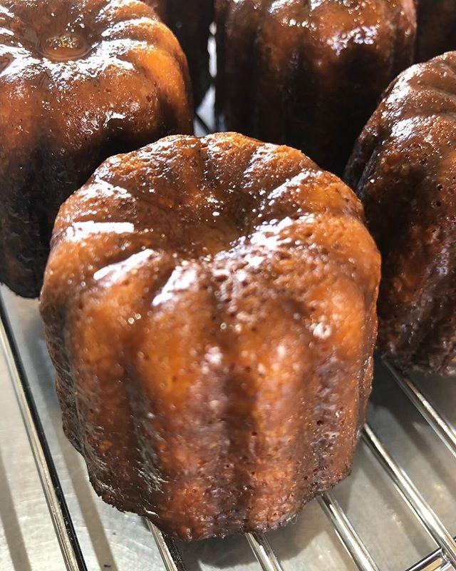 つやピカカヌレはバニラあと抹茶とチョコレートも焼きまーす。#カヌレ#cannelé de Bordeaux#カヌレ部 #手作りカヌレ#カヌレ販売#明日は3種類#バニラ#バニラビーンズ#太山寺珈琲焙煎室