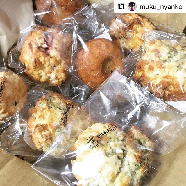 お客様の元にスコーン箱が無事に。ありがとうございました!#Repost @muku_nyanko with @get_repost・・・お仕事でお世話になっている、卵に徹底的にこだわったお菓子を作られてる「Pieces」さんのスコーン、到着!モリモリ入っててびっくり!! 今から幸せになります(*´ω`*)Piecesさん、ありがとうございます!!#朝どり卵のスイーツ #神戸のお菓子 #pieces_cookie #また抹茶味