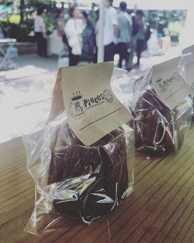 @eatlocalkobe はじまっております。まだまだ野菜やパン、お豆腐などなど美味しいものがたくさん並んでますよ!ぜひお立ち寄りくださいませ。#よろしくお願いします #イベント情報 #eatlocalkobe #eatlocalkobefarmersmarket #ファーマーズマーケット#東遊園地#焼き菓子屋#カヌレまだあります