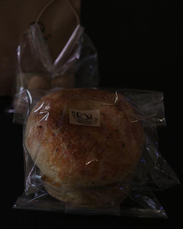 @napepan614 さん@082chan さん@subaco.sa.mi.na さん巣箱さんのおやつは昨日食べちゃった…パインのチーズケーキタルト!買ってよかった♡ 美味しかったです。ベーグルは朝ごはんに#ジャム部 #入部ありがとうございます#全員が部長です#ジャム作り #ベーグル#おやつ#焼き菓子 #幸せ#仲間