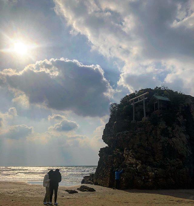 #稲佐の浜#出雲大社#出雲大社縁結び いまから神戸に帰ります。