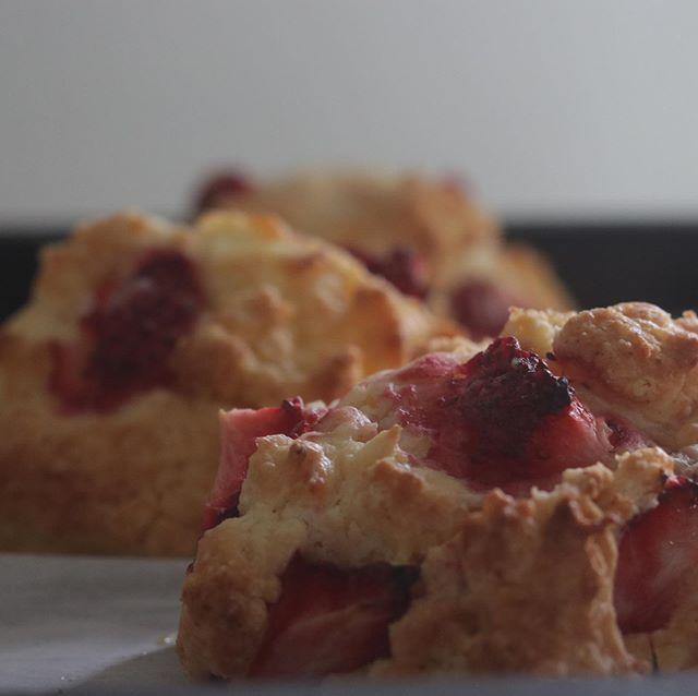 BASEからご注文のお客様方明日発送させて頂きます!写真は苺とクリームチーズのスコーン昨日、笠木ファームさんからいただいた美味しい苺をたっぷりと。厨房の中は甘い香りでいっぱいですー。レモンケーキ🍋フィナンシェも焼き上がりました。お受け取りよろしくお願いします🤲4月4日土曜日のメニューは前ポストをご覧下さい。#pieces焼き菓子屋#pieces#焼き菓子販売#焼き菓子屋さん#シフォンケーキ#スコーン #チーズケーキ #クッキー #cookies#イベント販売#イベント出店 #店舗なし#神戸市西区#玉津インターすぐ#ご予約承ります#よろしくお願いします